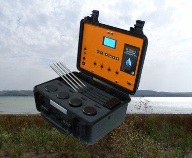 جهاز BR 700 PRO كاشف المياة الجوفية مع تحديد نوع المياة عمق 700 متر تحت الأرض