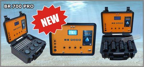 جهاز BR 700 PRO كاشف المياة الحوفية مع تحديد نوع المياة لعمق 700 متر - بي ار دبي