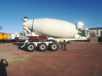 خلاطة الخرسانة، mixer semi trailer concrete mixer semi-trailer