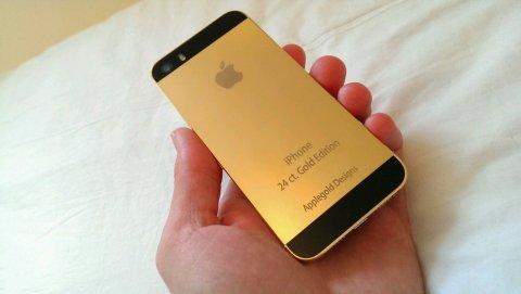 صور 24 carat Blackberry Porsche Design, 24 Carat Apple iPhone 5s  1