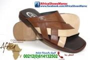نعالة رجالية جلد مغربي